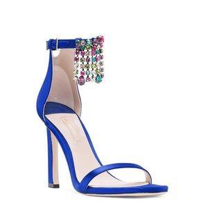 New Stuart Weitzman embellished heels 8 $795